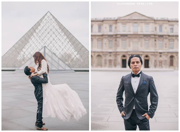 photoshoot photosession wedding in paris